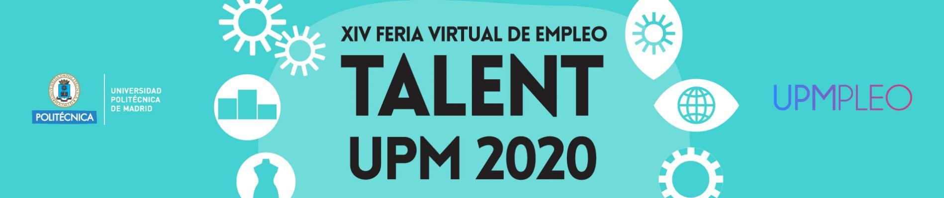 Logo Talent UPM 2020